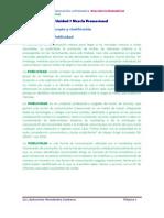 Material de Estudio U7 Mezcla Promocional