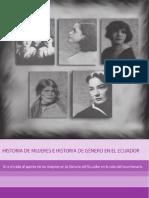Historia de Mujeres e Historia de Genero en El Ecuador