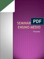 Seminários 3º Ensino Médio