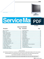 Philips LCD Monitor 170S7 service manual
