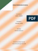 ESTRATEGIA PROMOCION DE VENTAS
