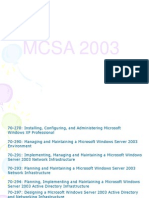 Mcsa Notes