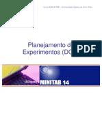 Planejamento de Experimentos Minitab