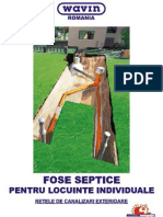 Catalog Fose Septice