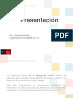 Presentación_Teoria de la Percepcion Visual