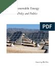 Renewable Energy Policy and Politics Summary