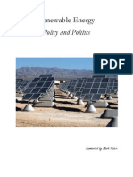 Renewable Energy Policy and Politics Summary