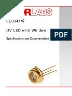 340 nm UV led