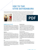 Alternative-guide to Gothenburg