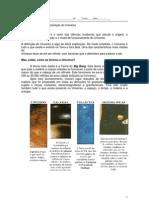 Ficha Informativa nº 1 - Organização e Formação do Universo