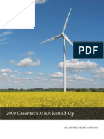 2009 Greentech Annual DOE Solyndra GE and More