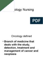 Nursing Oncology