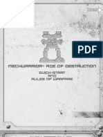Mechwarrior Age of Destruction - Reglamento COMPLETO en Ingles
