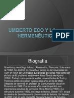 Umberto Eco y la hermenéutica