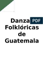 Danzas Folklóricas de Guatemala