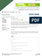iMasters Fóruns - Ajax Em PHP - Página 1