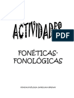 AcTiV fonologicas