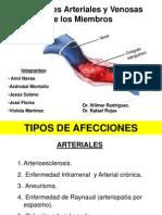 Afecciones Arteriales y Venosas de Los Miembros
