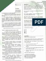 Prova Dataprev Processo Administrativo II 2011