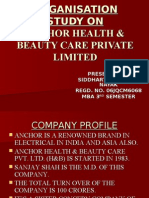 Anchor Health & Beauty Care Pvt