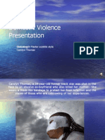 Domestic Violence Presentation