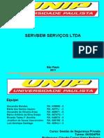 DESENVOLVIMENTO DA SERVBEM SERVIÇOS LTDA. PPT. PDF