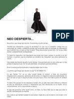 NEO, DESPIERTA 1
