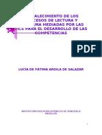 Fortalecimiento de Los Procesos de Lectura y Escritura Medi