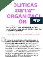 politicas de organizacion