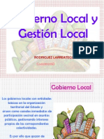 Gobierno Local y Gestion Local