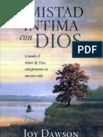 Amistad Intima Con Dios
