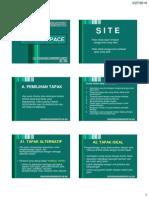Basic LA Lecture 04 Site & Space