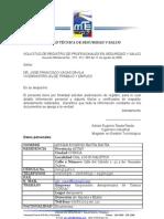 Solicitud de Registro MRL