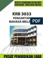 KRB3033 Pengantar Bahasa Melayu