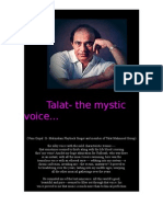 Talat-The Mystic Voice..