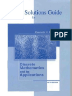 Student's Solutions Guide for Use With Discrete Mathematics