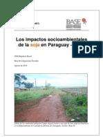 Impactos Socioambientales de La Soja en Paraguay  2010 - PortalGuarani