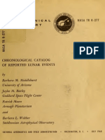 Chronological catalog of reported lunar events