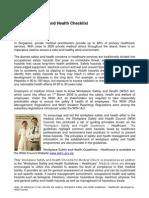 Checklist Healthcare Medical Clinics (Final) Edited 300810(1)