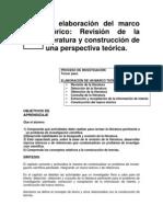 La Elaboracion Del Marco Teorico RHdezSampieri