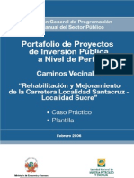 Proyecto Del Cip Caminos Vecinales - Caso Practico y Plantilla[1]