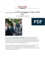 07-09-11 Apocalyptic GOP is Dragging Us Into a Civil War