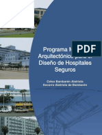 PROGRAMA MEDICO ARQUITECTONICO PARA DISEÑO DE HOSPITALES doc17232-contenido