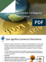 Comercio Electrónico VS Negocio Electrónico
