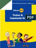 Técnicas de comunicación oral