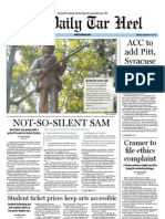 The Daily Tar Heel for September 19, 2011