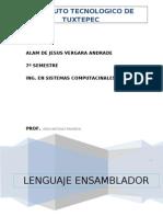 Unidad 1  Fundamentos Introducción Lenguaje Ensamblador