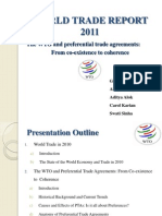 WTR( World Trade Report)-2011