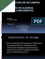 Arquitectura de Un Campus Virtual.grupo 6