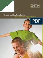 Private Ancillary Fund Service SVA
